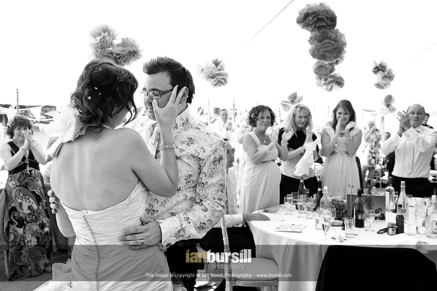 Documentary Wedding Photography - Emotional Speeches
