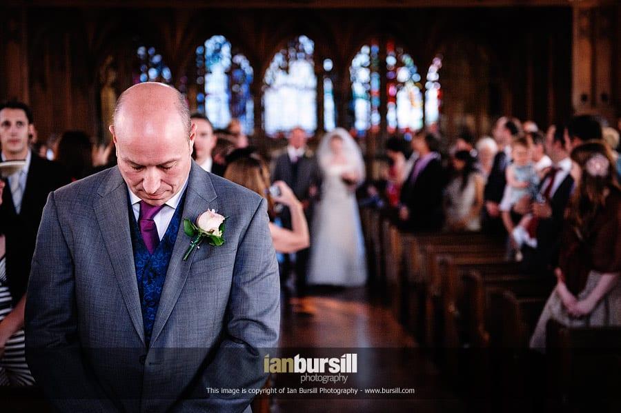 St Etheldreda's London Documentary Wedding Photography, Anthony & Rose