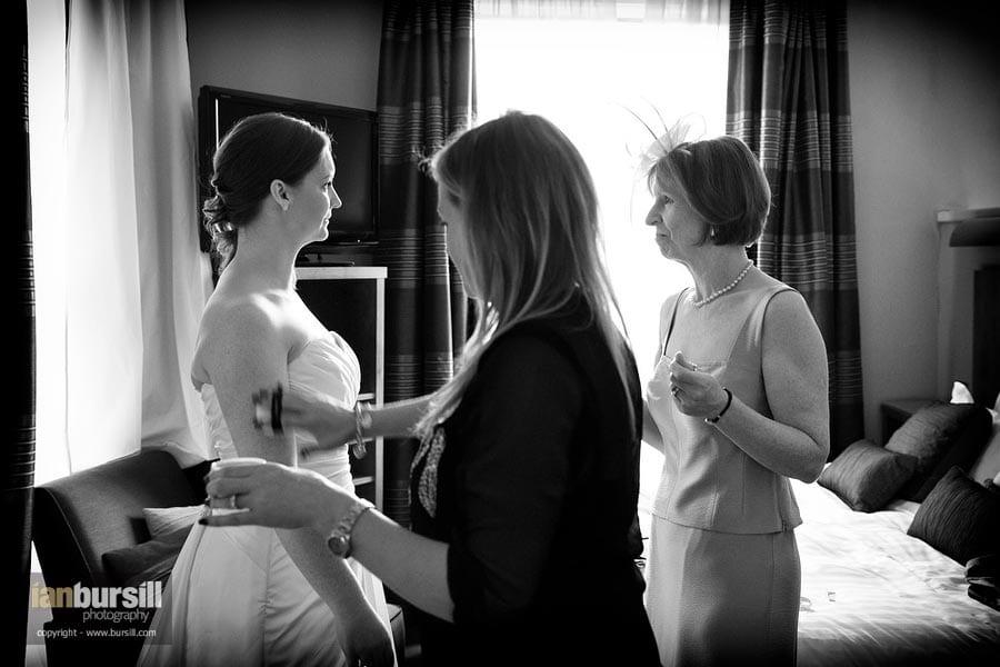 Nottingham Wedding Mother and Bride