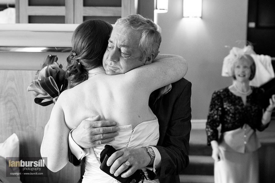 Nottingham Wedding Father and Bride
