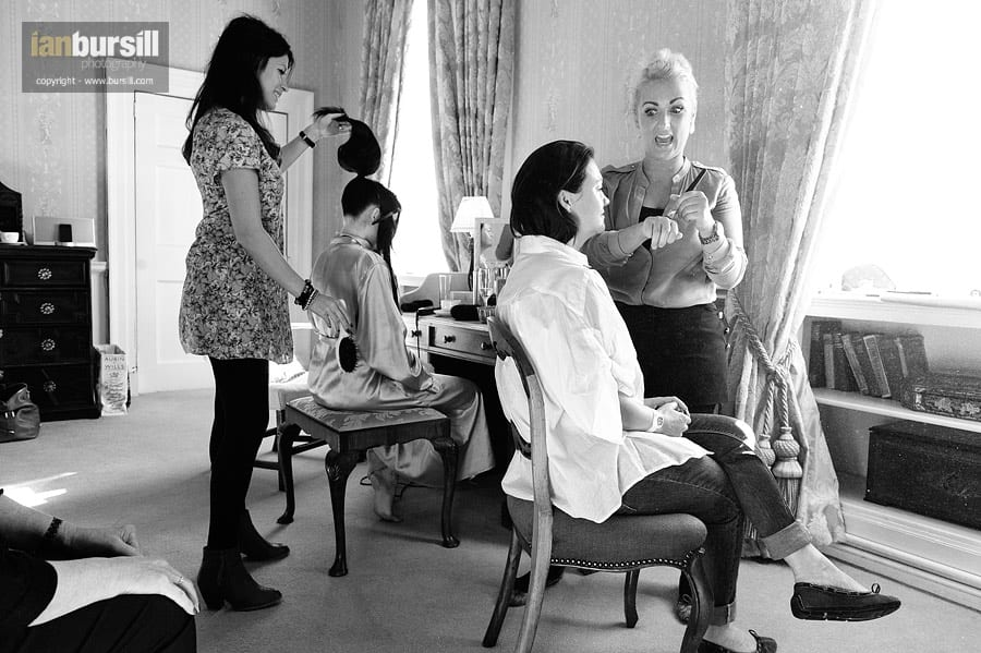 Norwood Park Bridal Preparations