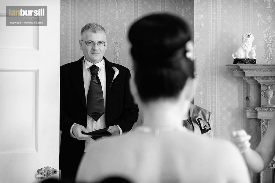 Norwood Park Bride with Father