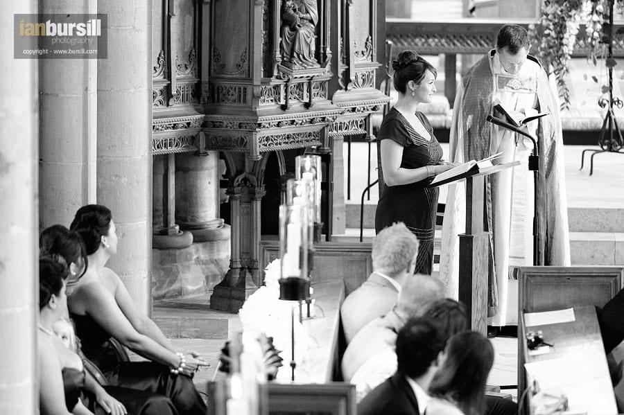 Southwell Minster Wedding Reading