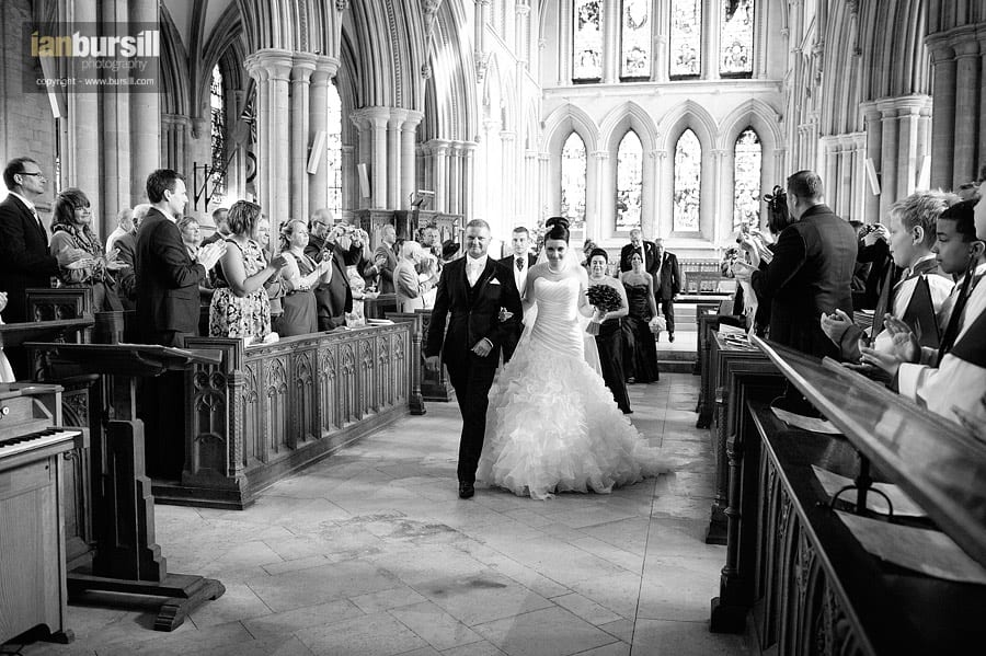 Southwell Minster Wedding Processional
