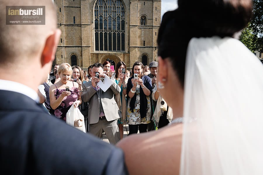 Southwell Minster Wedding Cameras