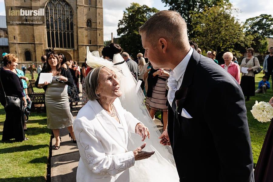 Southwell Minster Wedding