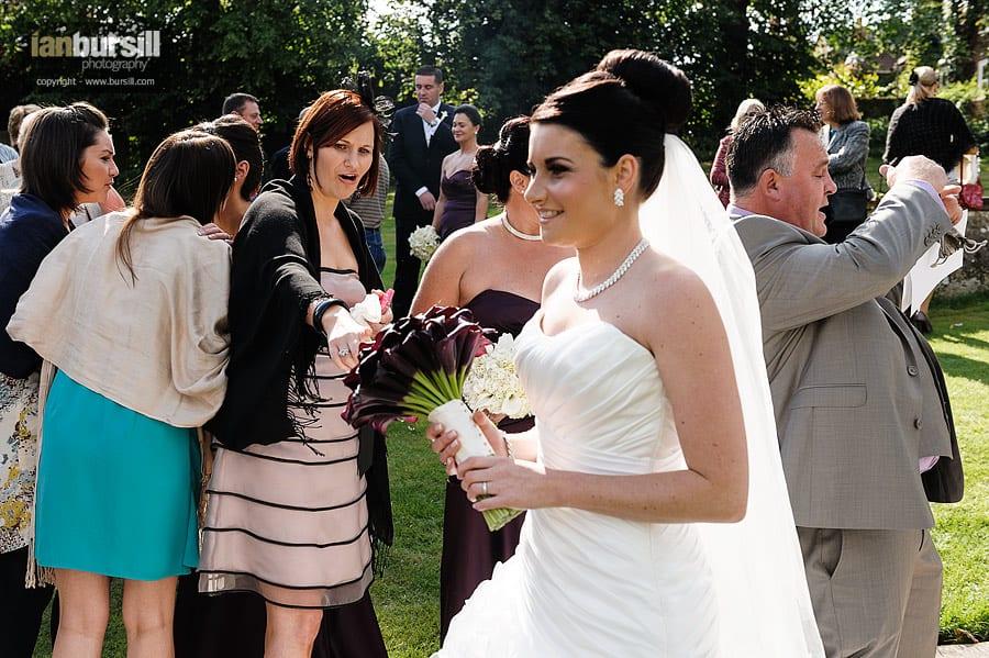 Southwell Minster Wedding Flowers