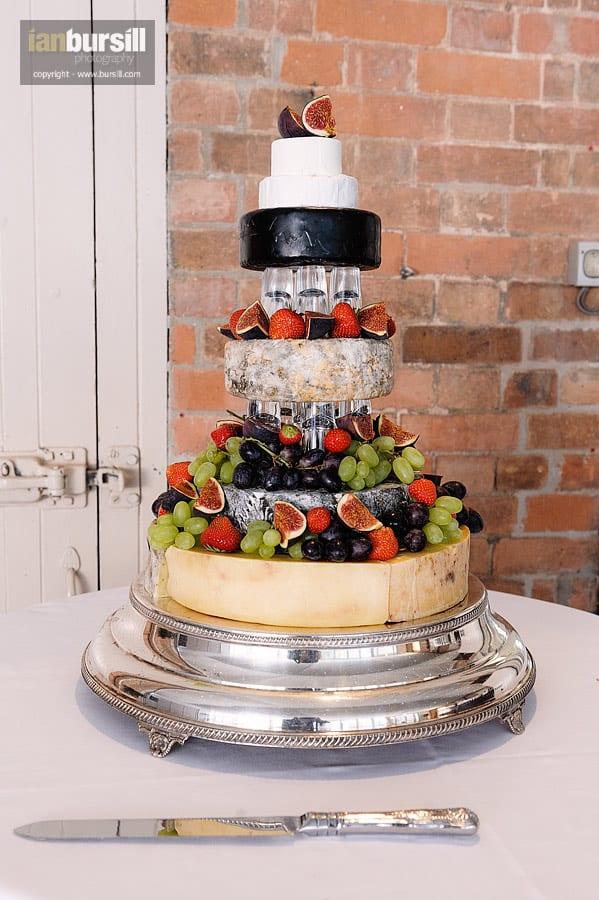 Norwood Park Wedding Cake