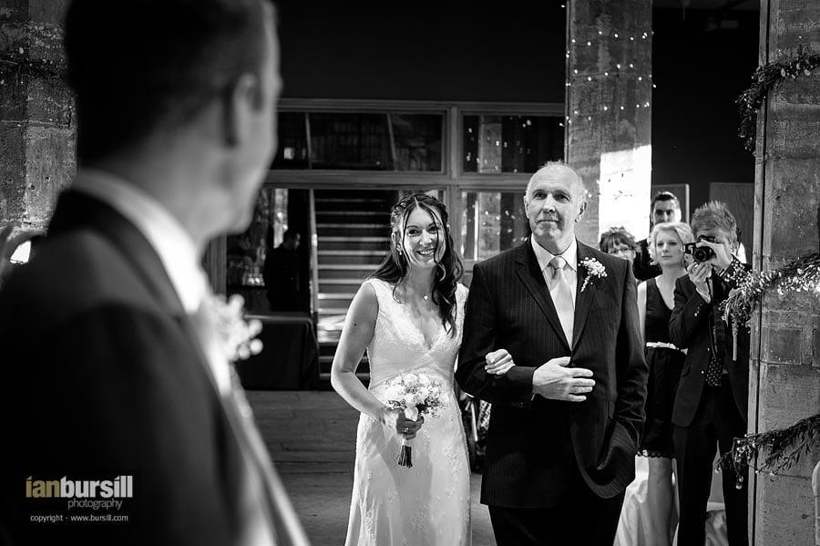 Hospitium York Wedding Recessional