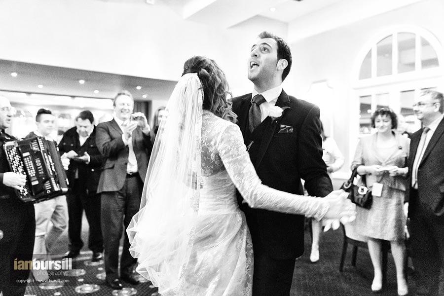 Moor Hall Hotel Wedding Dancing