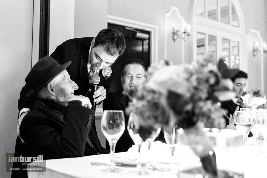 Groom with Father and Grandfather