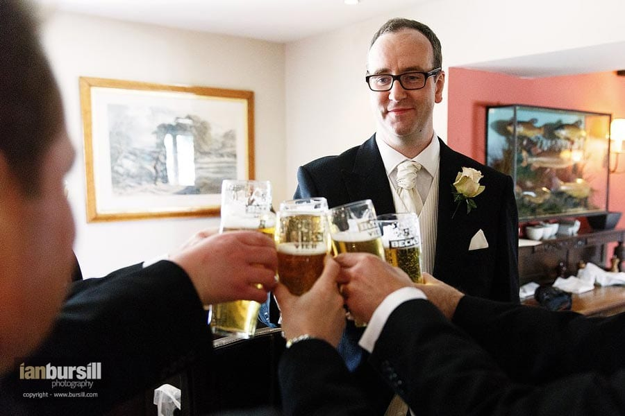 Groom and Beer