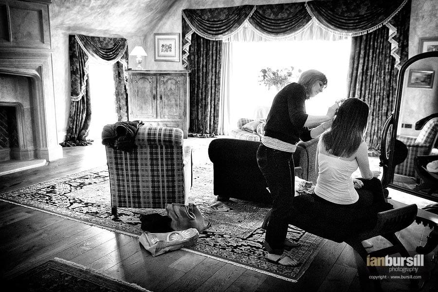 Ladywood House Bridal Preparations
