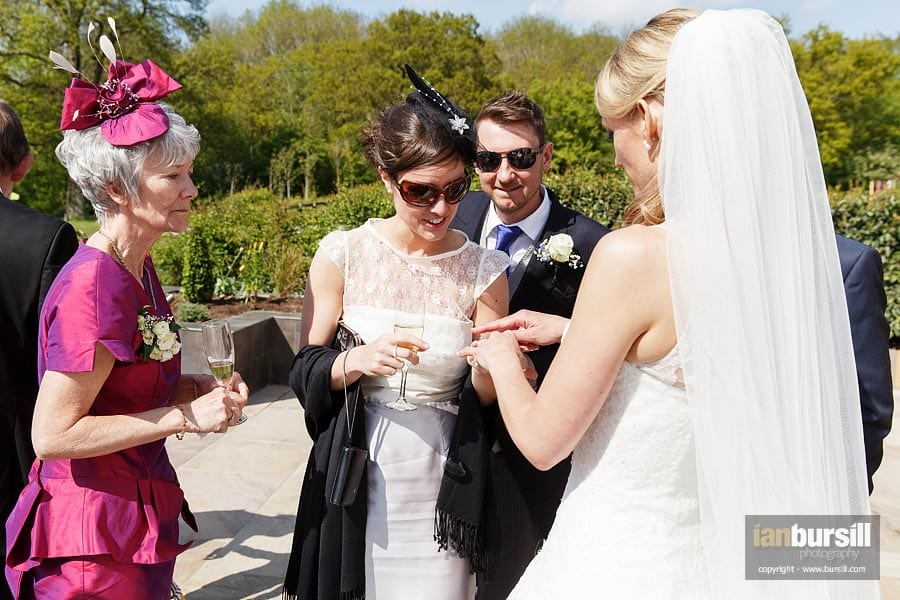 Inspecting the Bride's Wedding Ring