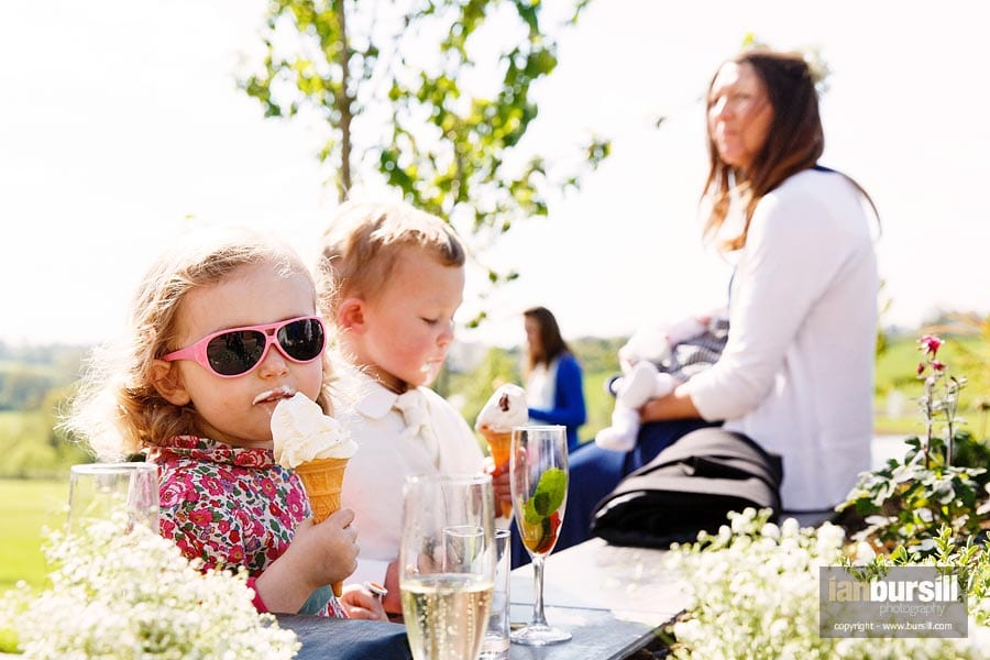 Ice Cream at the Wedding