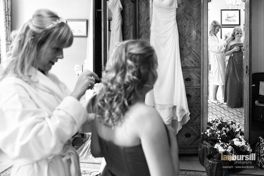 Kilworth House Bride Getting Ready