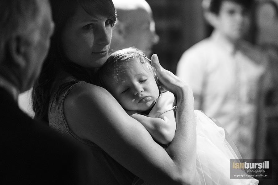 Kilworth House Wedding Mother & Baby