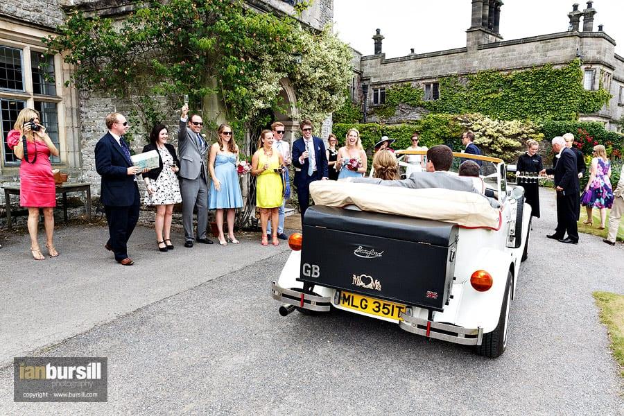 Tissington Hall Wedding