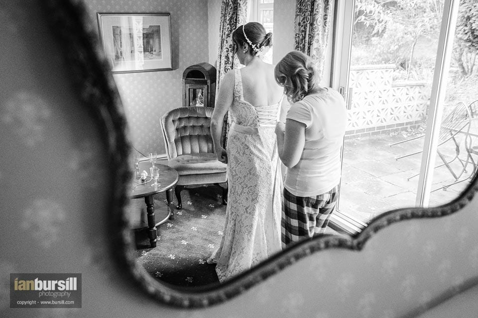Donington Manor Hotel Bridal Preparations