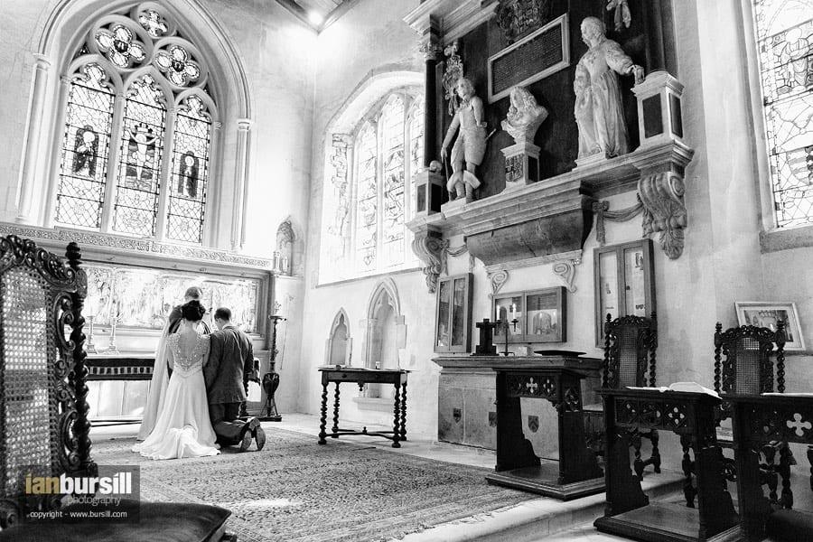 Easton Neston Church Wedding