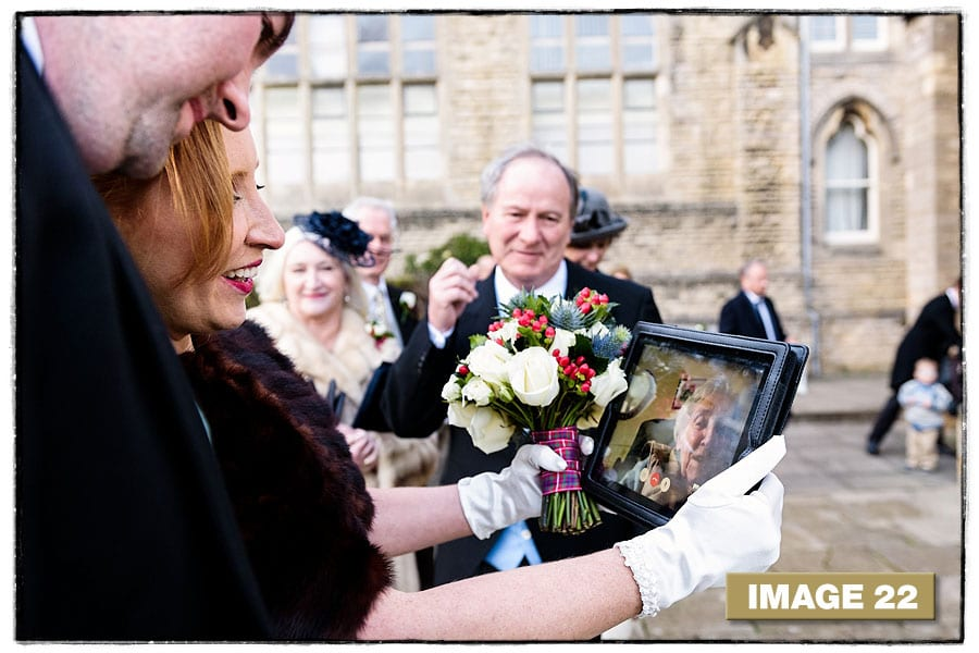 Second place - from Marianne & Oliver's Stamford School Wedding