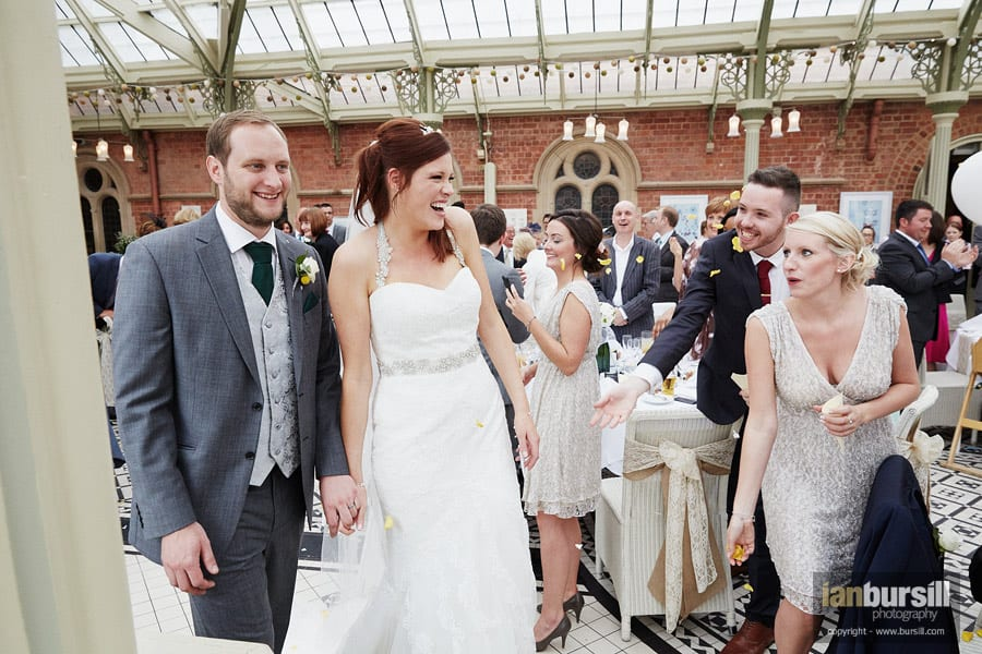 An emotive Kilworth House wedding