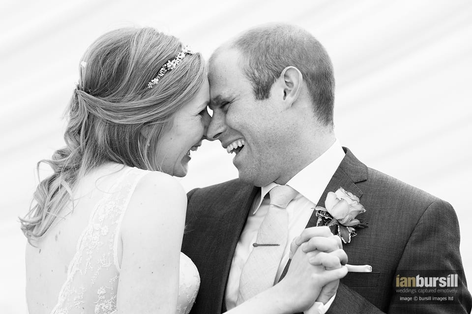 James & Joanne's first dance at their Toft Country House Hotel wedding