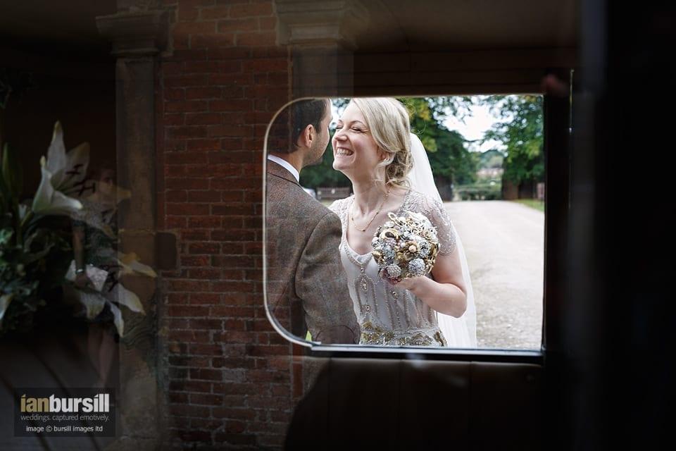 Sir John Moore Foundation Wedding - A Stolen Kiss