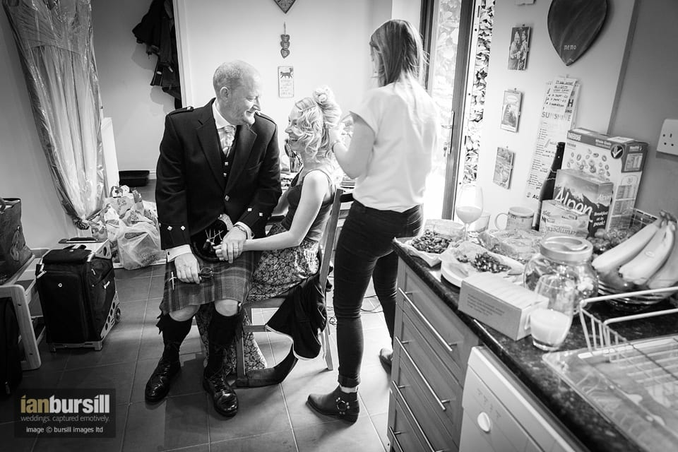 Sir John Moore Foundation Wedding - Bridal Preparations