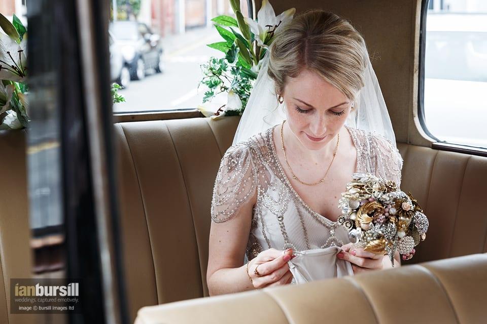 Sir John Moore Foundation Wedding - Bride