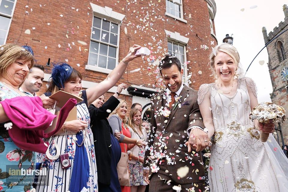 Sir John Moore Foundation Wedding - Confetti