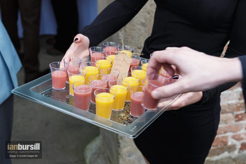 Sir John Moore Foundation Wedding - Drinks
