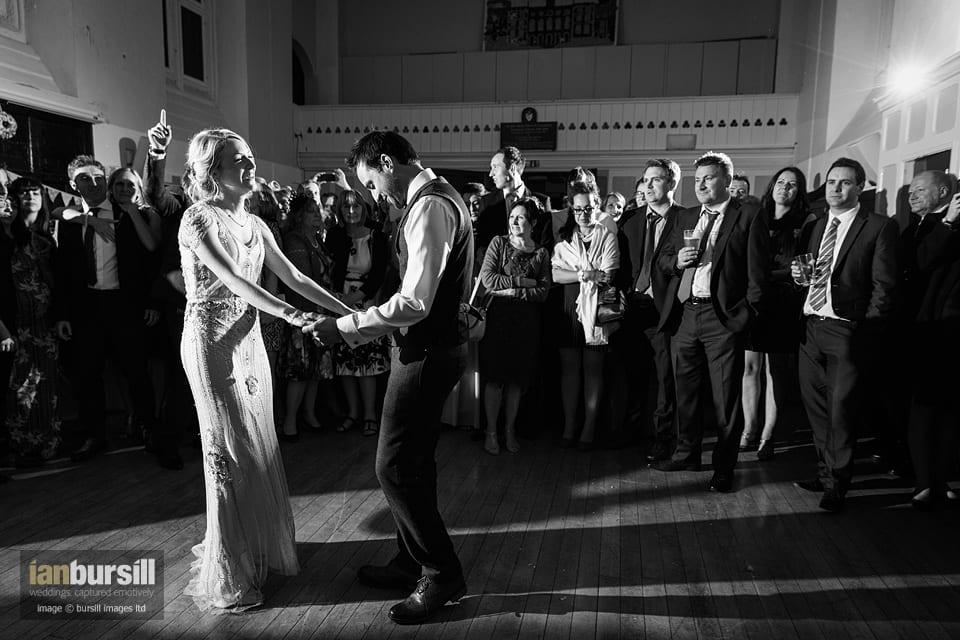 Sir John Moore Foundation Wedding - First Dance