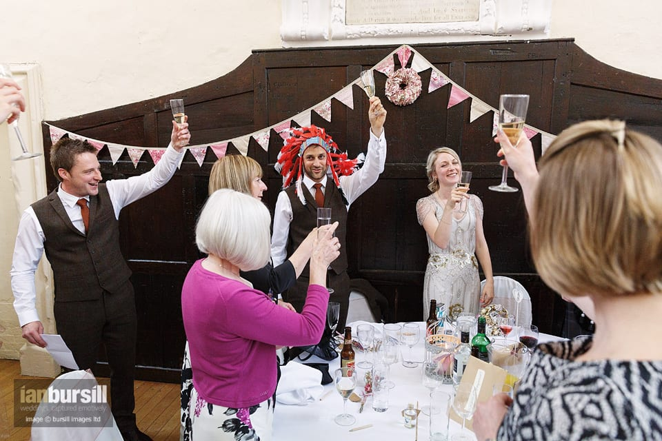 Sir John Moore Foundation Wedding - Toast