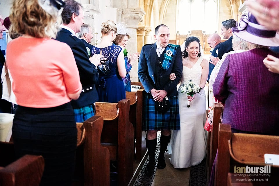 Edith Weston Church Wedding