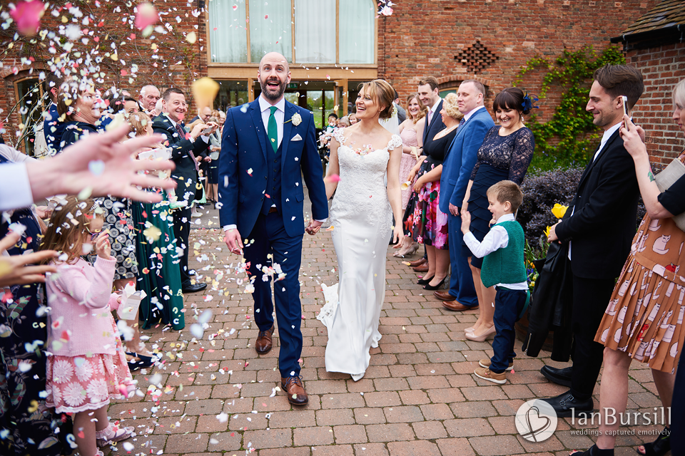 Springtime Mythe Barn Wedding
