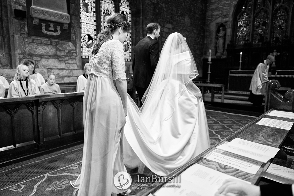 Winter Mythe Barn Wedding