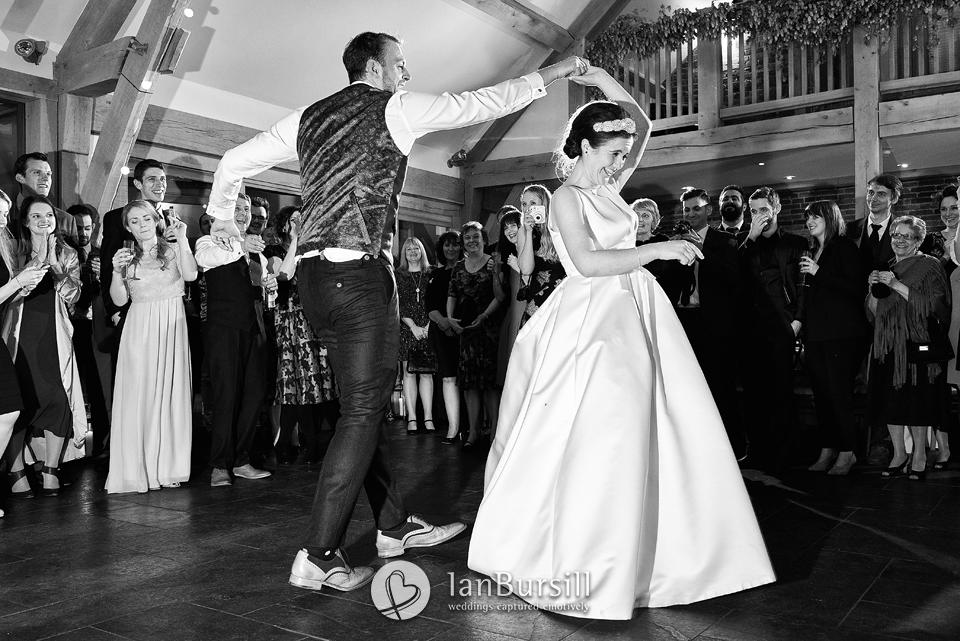 Winter Mythe Barn Wedding