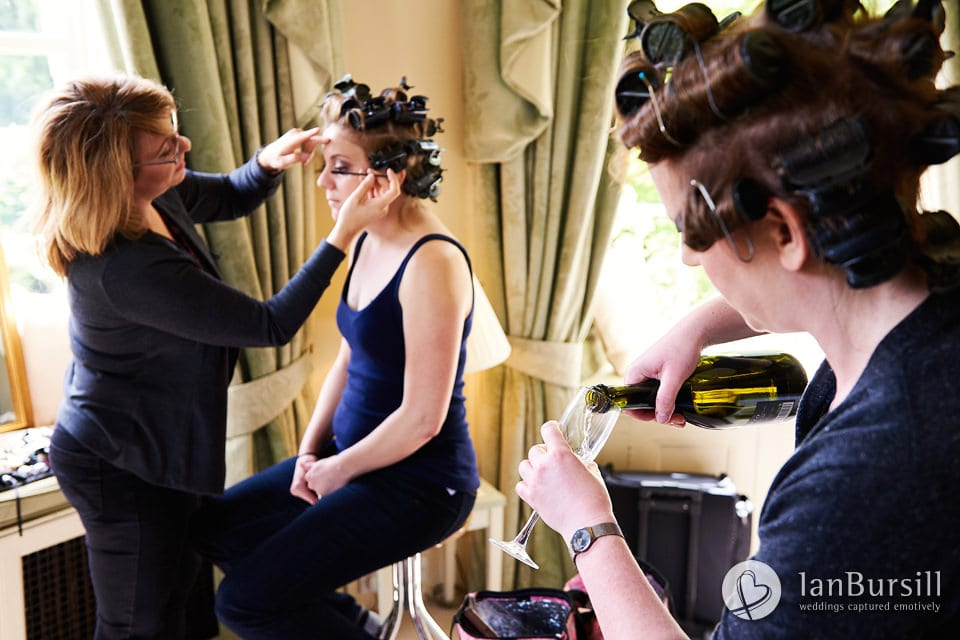 Sutton-Bonington-Hall-Champagne-And-Makeup