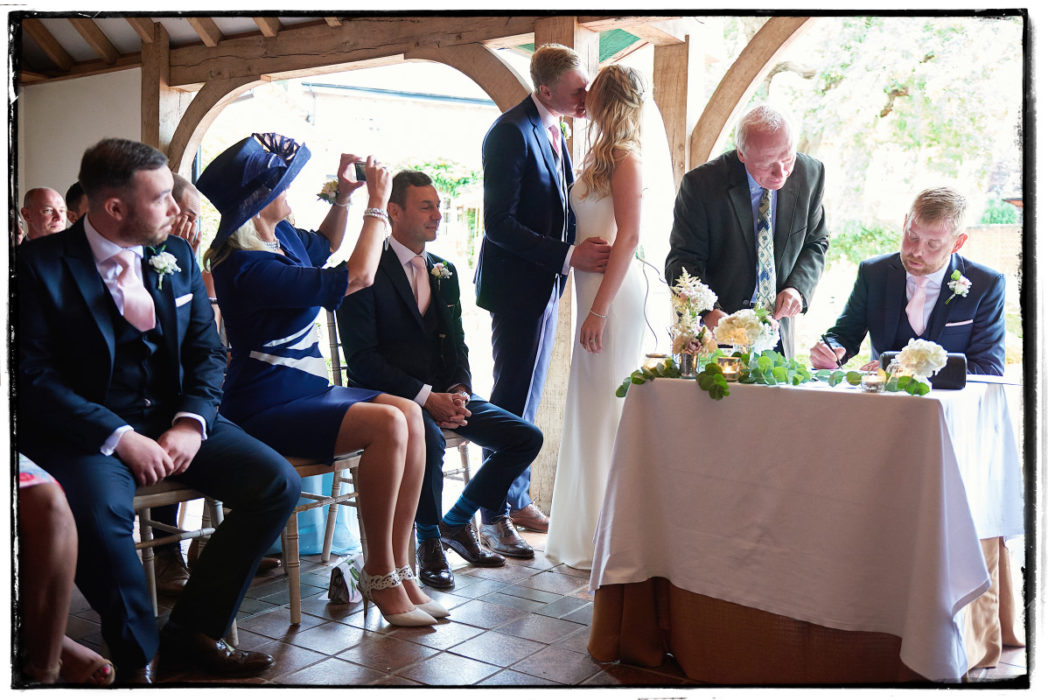 Goldstone Hall Wedding Ceremony