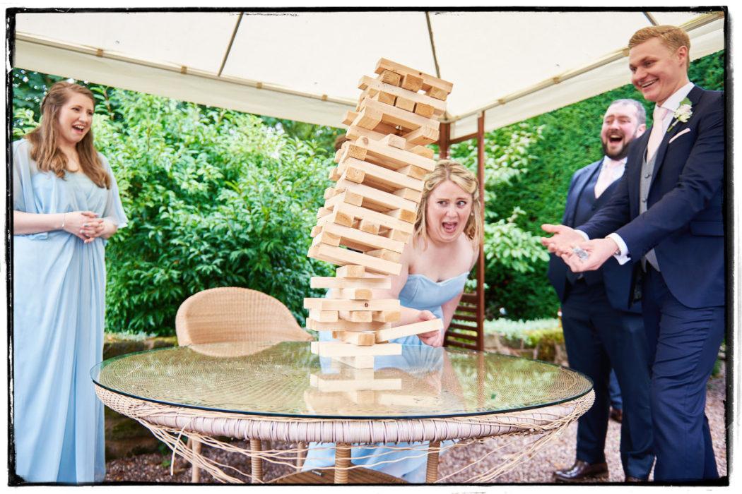 Goldstone Hall Wedding Reception