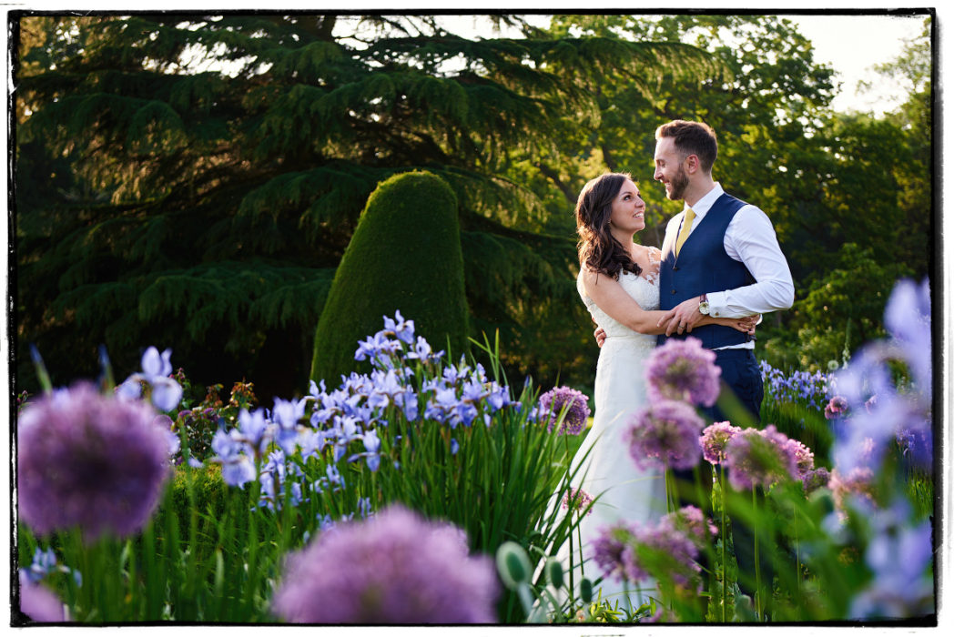 Prestwold Hall Wedding Portrait