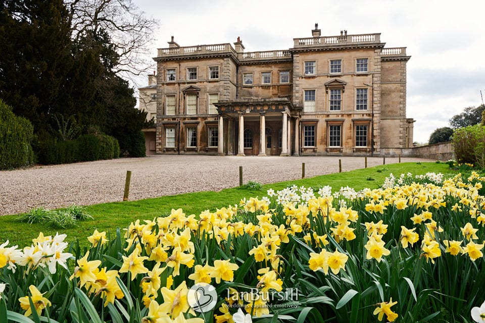 Prestwold Hall at Springtime