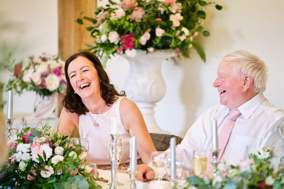 Emma from Sassy Blooms at George & Tonia's Swancar Farm, Nottinghamshire Wedding.